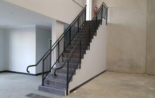 Fire Stair Handrails